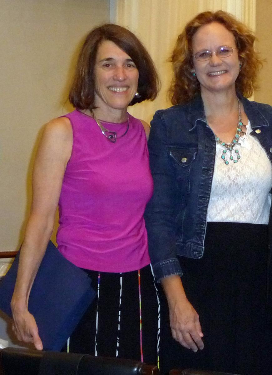 AHF President Cindy Kelly & LAHS Executive Director Heather McClenahan